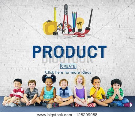 Product Creativity Craft Instrument Work Concept