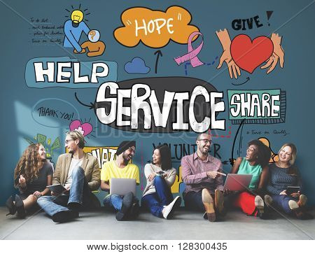 Service Support Assistance Customer Delivery Concept