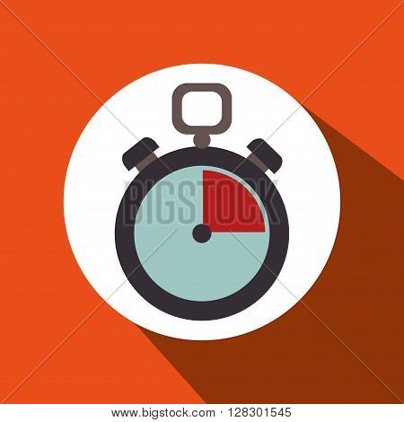 chronometer icon design, vector illustration eps10 graphic