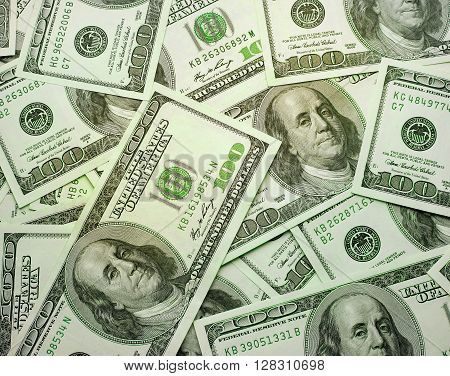 the background texture of dollars, finance background
