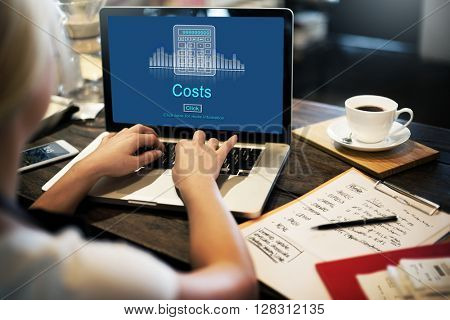 Costs Budget Debt Economy Finance Investment Concept