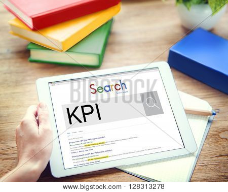 Digital Device Display Network Social Search Concept