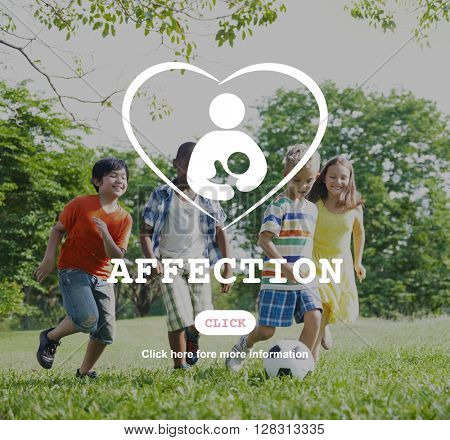 Affection Care Family Child Love Concept