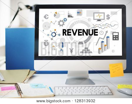Financial Economy Income Revenue Money Concept