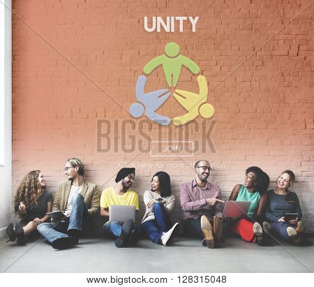 Unity United Togetherness Support Community Concept