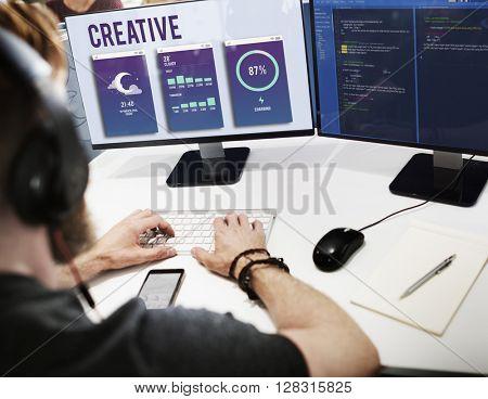 Creative Modern Design Imagination Inspiration Concept