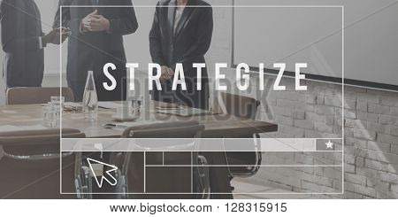Strategy Tactics Vision Solution Development Concept