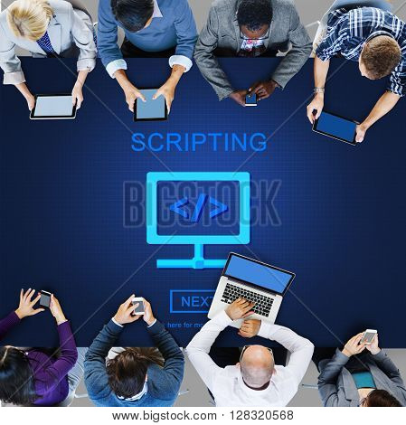 Source Code System PHP Scripting Concept