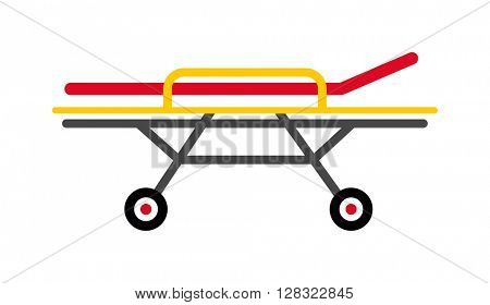 Stretcher vector illustration.