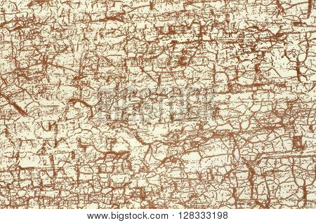 Cream background with brown pattern - texture decorative colored paper