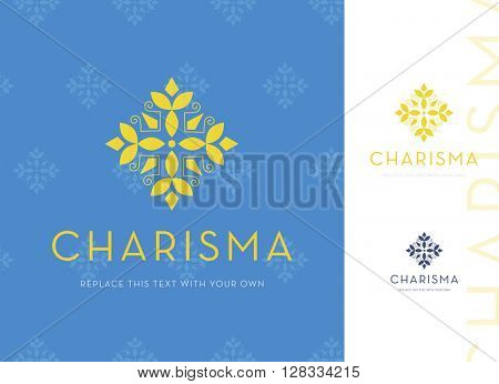 BEAUTIFUL DECORATIVE LOGO / ICON DESIGN