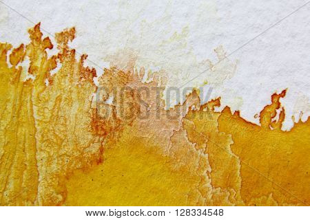 Yellow Watercolour Background 10