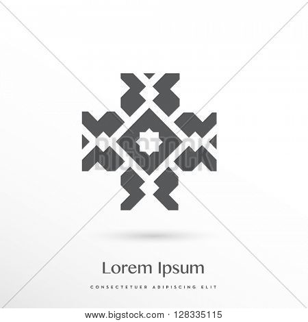decorative cross logo / icon