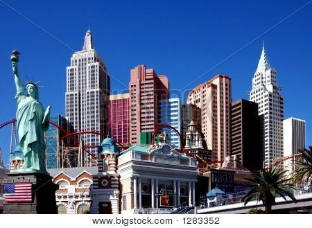 Het New York Hotel, Las Vegas, Nevada.