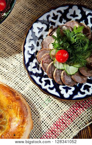 Kazy - Traditional Sausage-like food made from Horseflesh