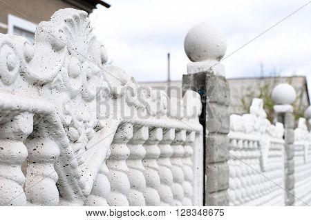 Guss Concrete Fence