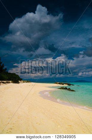 Lagoon Landscape Idyllic Scene