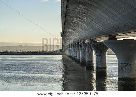 River Forths newest crossing being Clacks bridge
