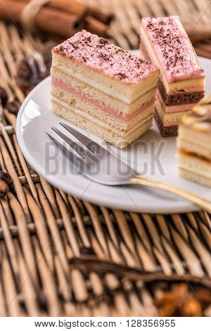 Layered Mini Cakes
