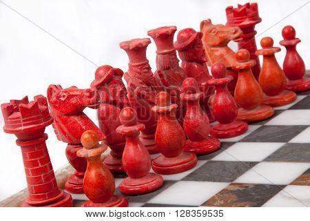 Chess Board Alabaster