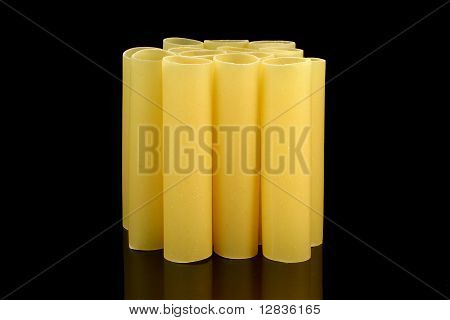 Cannelloni Tubes - Front View