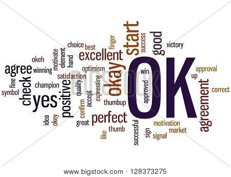 Ok, Word Cloud Concept 7