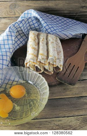 Orphaned Pancakes And Eggs