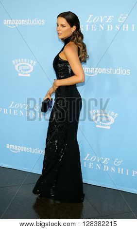 Kate Beckinsale at the Los Angeles premiere of 'Love And Friendship' held at the DGA Theater in Hollywood, USA on May 3, 2016.