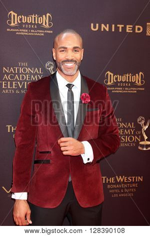LOS ANGELES - MAY 1:  Donnell Turner at the 43rd Daytime Emmy Awards at the Westin Bonaventure Hotel  on May 1, 2016 in Los Angeles, CA