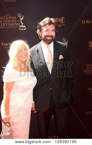 LOS ANGELES - MAY 1:  Frank Runyeon at the 43rd Daytime Emmy Awards at the Westin Bonaventure Hotel  on May 1, 2016 in Los Angeles, CA