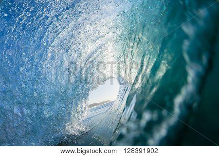 Wave Inside Tube