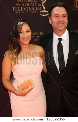 LOS ANGELES - MAY 1:  Tamera Mowry-Housley, Adam Housley at the 43rd Daytime Emmy Awards at the Westin Bonaventure Hotel  on May 1, 2016 in Los Angeles, CA