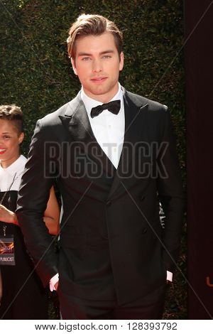 LOS ANGELES - MAY 1:  Pierson Fode at the 43rd Daytime Emmy Awards at the Westin Bonaventure Hotel  on May 1, 2016 in Los Angeles, CA
