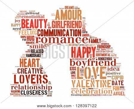 True Love, Word Cloud Concept 4