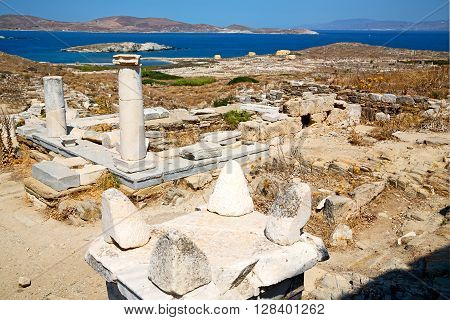 Temple  In  Greece The Historyca  Old   Site