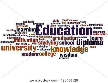 Education, Word Cloud Concept