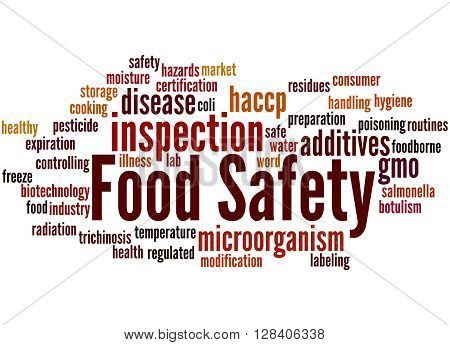 Food Safety, Word Cloud Concept 2