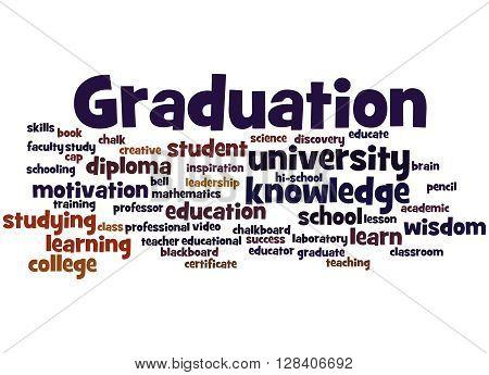 Graduation, Word Cloud Concept 5