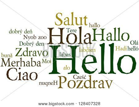 Hello, In Different Languages 7