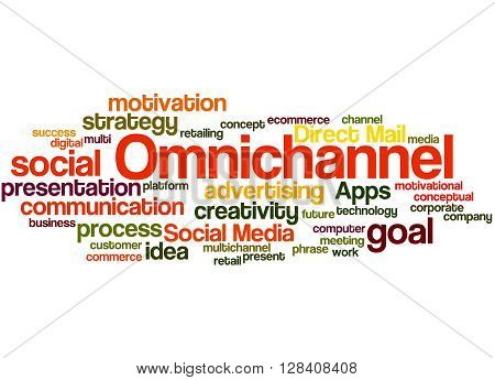 Omnichannel, Word Cloud Concept 5