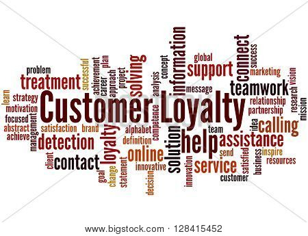 Customer Loyalty, Word Cloud Concept 9