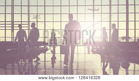 Corporate Business Communication Strategy Concept