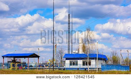 Gas Pumping Station