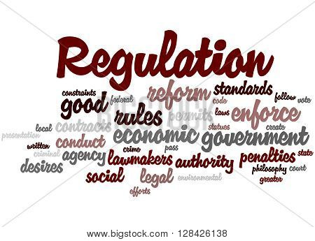Regulation, Word Cloud Concept 3