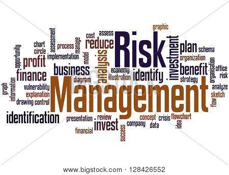 Risk Management, Word Cloud Concept 6