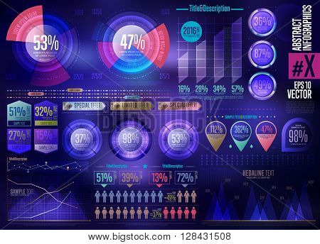 Infographic, infographic elements. Graph, vector infographic, chart, graphic, icons, arrow, charts and graphs, timeline. Business Infographic, abstract infographic icon. Set of Infographic symbol.