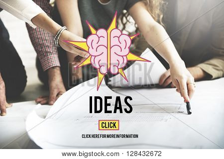 Ideas Mission Vision Strategy Concept