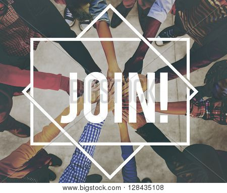 Join Membership Recruitment Register Concept