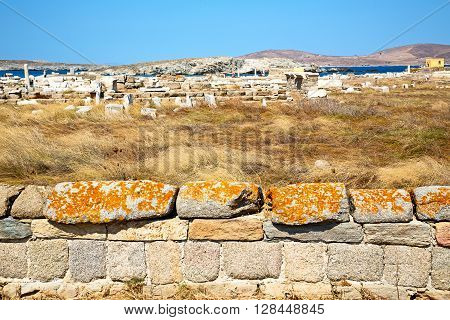 Archeology  In   The Historycal Acropolis  Old Ruin