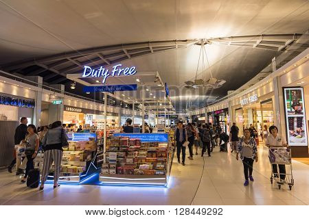 People Shopping At King Power Duty Free